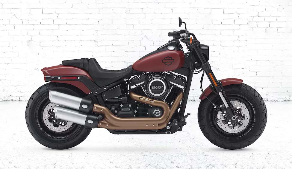 harley davidson 2018 fat bob review and price in india on road. Black Bedroom Furniture Sets. Home Design Ideas