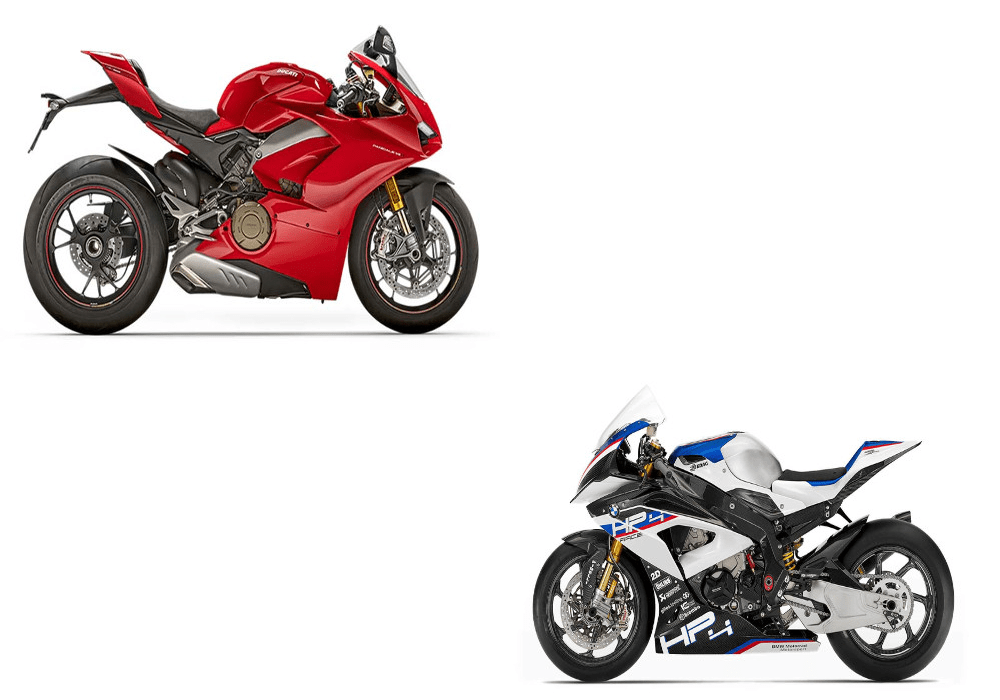 Ducati Panigale V4 S Vs Bmw Hp4 Race Adrenaline Culture