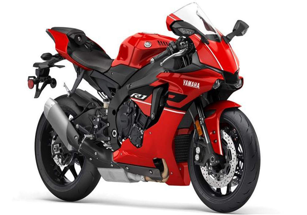 Yamaha R1 Rapid Red