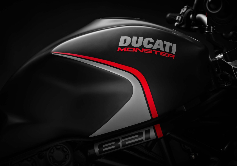 Ducati unveils Monster 821 Stealth with improvements
