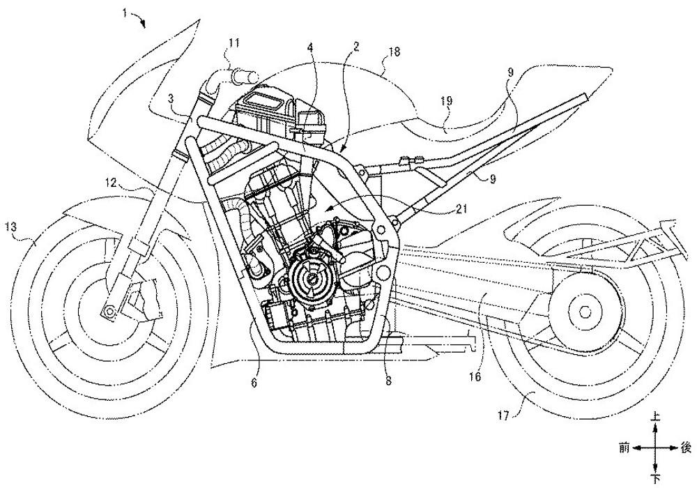 News And Rumors Patent History Of Suzukis New Bike Gsx 700 T