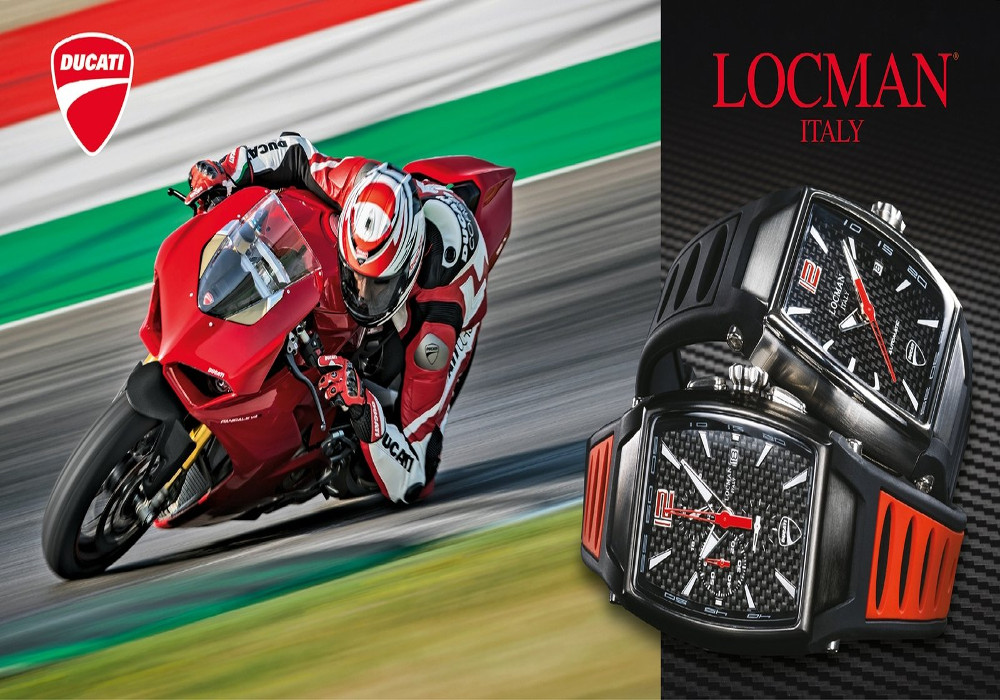 News : Ducati-Locman unveils new range of time pieces