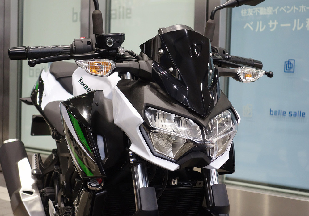 News : Upcoming Kawasaki Z400 Photos and details