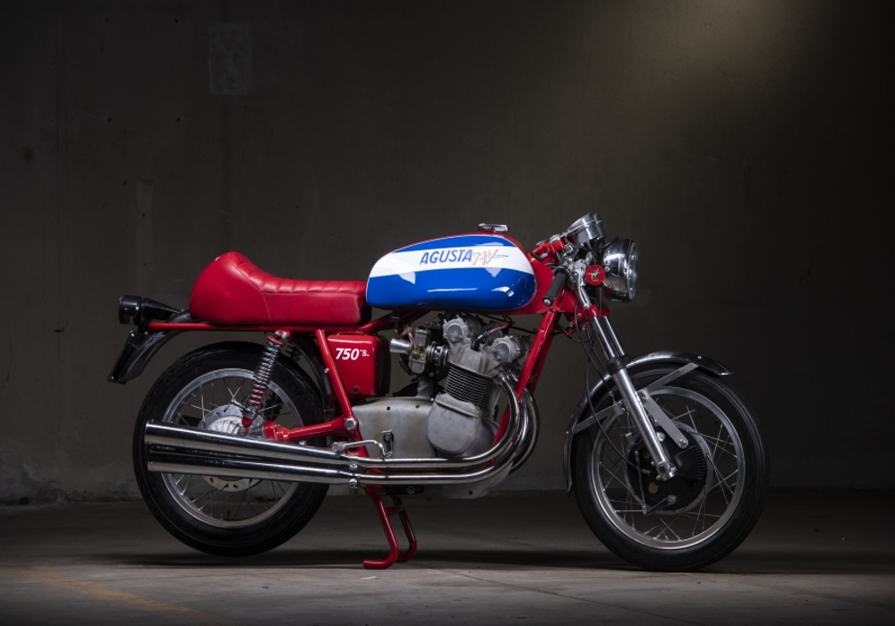 News : Classic MV Agustas to steal the show at RETROMOBILE 2019 in Paris