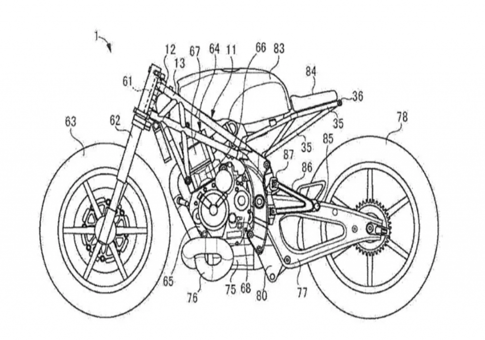 News : Patent shows Suzuki's lower displacement motorcycle is on way