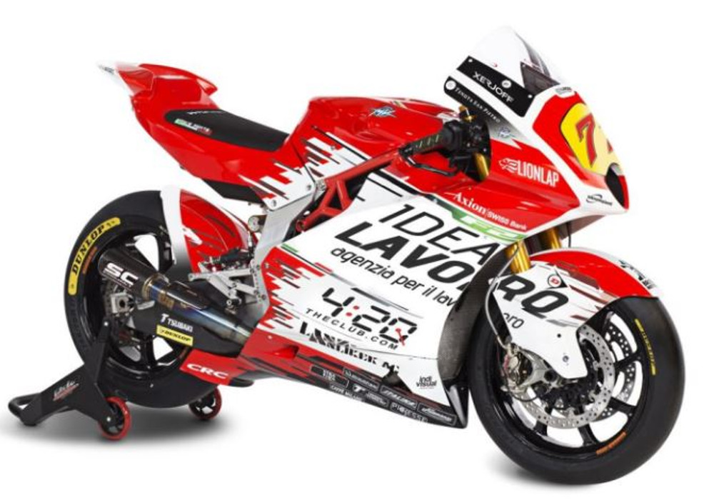 News : M V Agusta Moto 2 challenger gets unveiled by Forward Racing