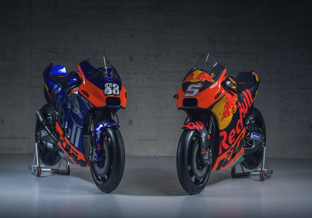 News : KTM unveils new livery for 2019 MotoGP in fancy colors