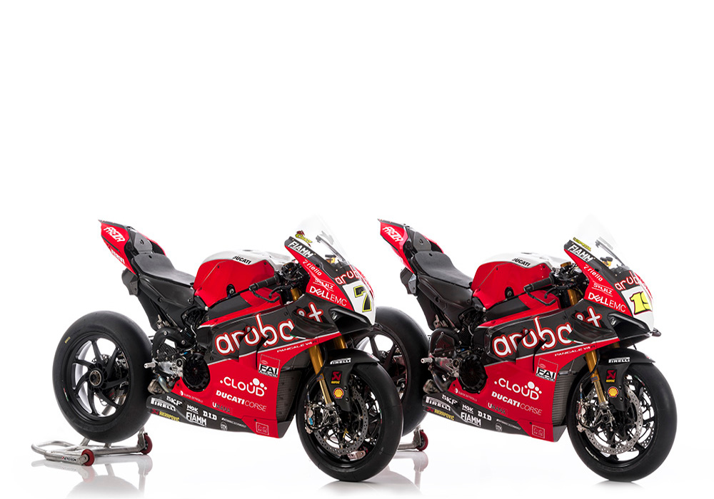 News : Ducati Panigale V4R Aruba SBK 2019 Team Officially Unveiled