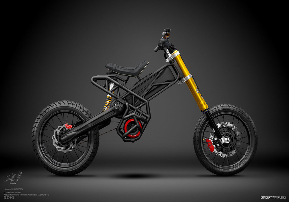 Electric Wayra Bike Concept By Pablo Baranoff Dorn