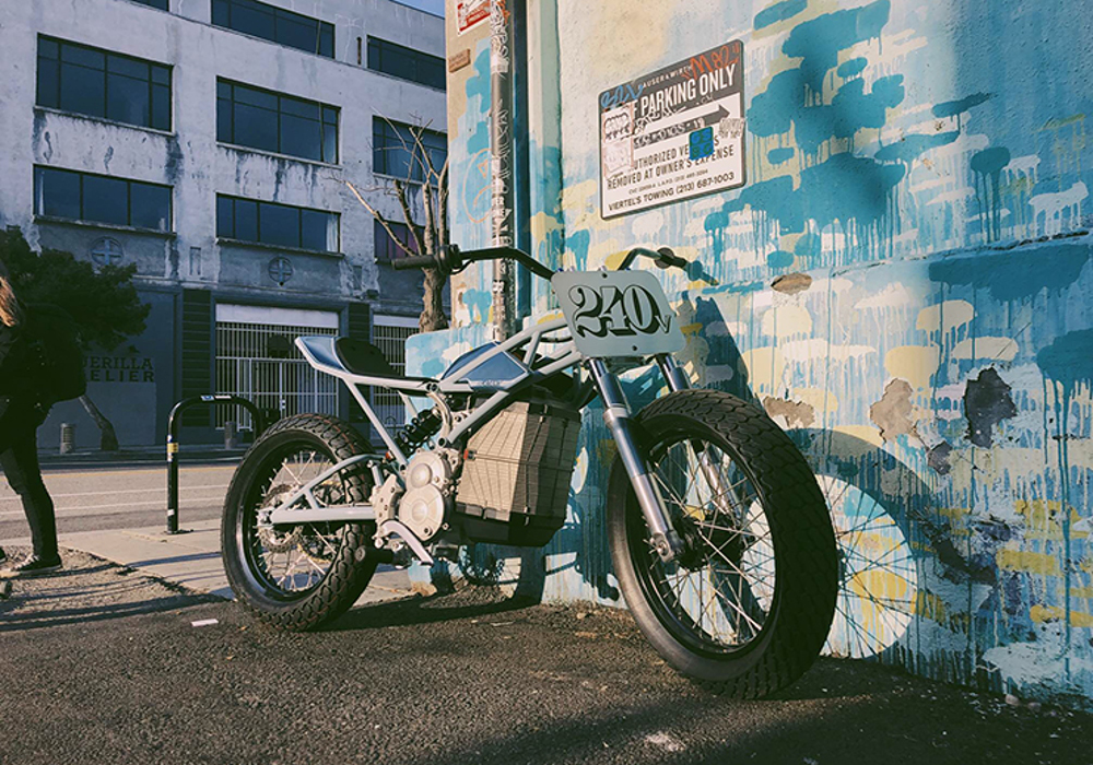 Electric : Blatant Motorcycles unveils electric dirt bike