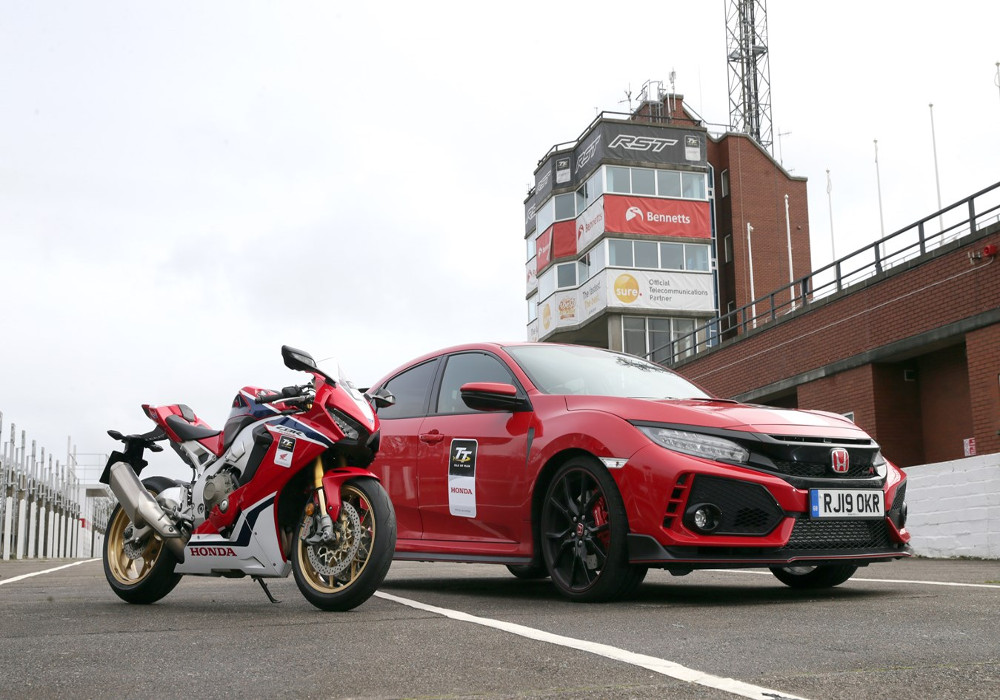 News : Honda UK returns to the Isle of Man TT as both the official motorcycle and car partner