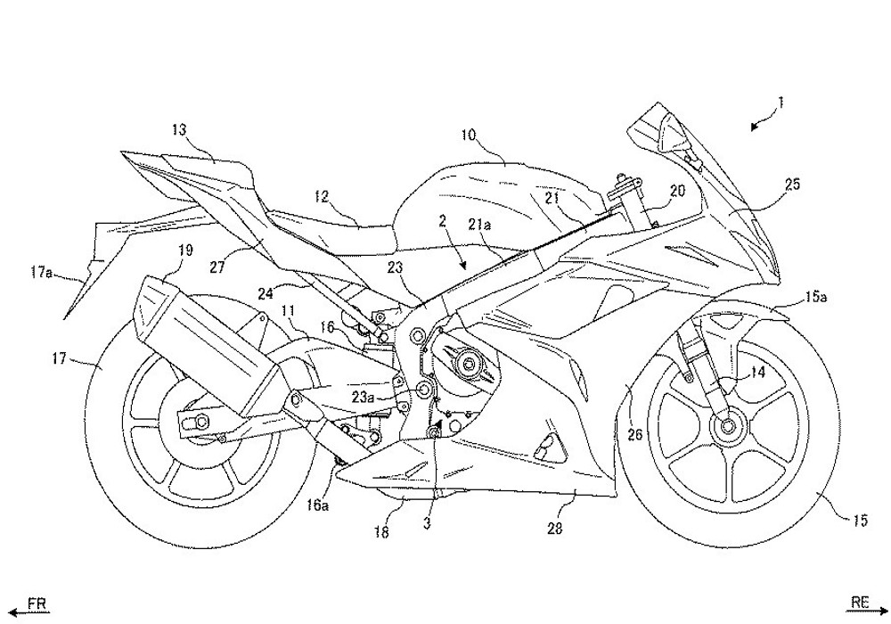 News : Suzuki files new patent for its upcoming GSX-R1000R