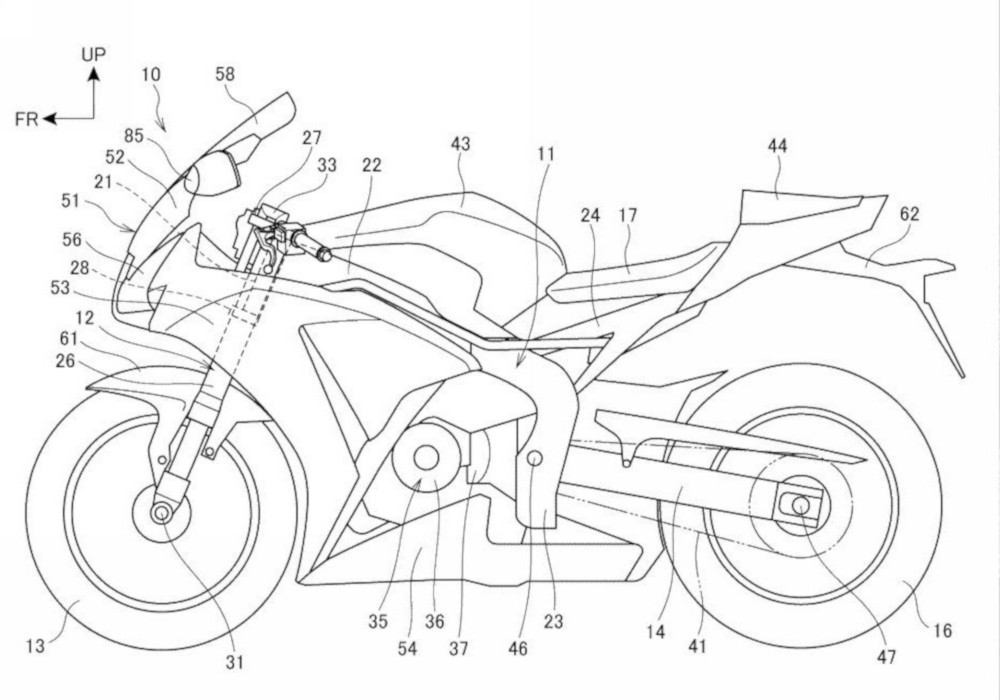 Is Honda gearing for CBR Tourer based on CBR1000RR?