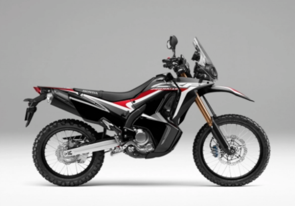 News : Honda introduces new paint scheme 'Extreme Black' for CRF250 Rally