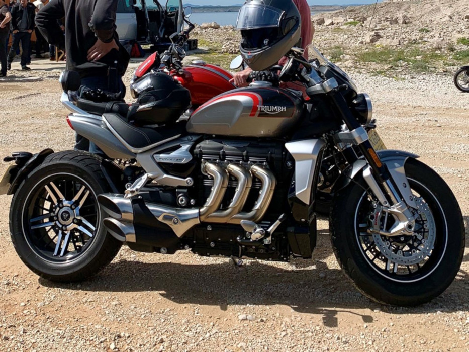 News : Triumph Rocket 3 GT production bike spied. Will it hit the showroom soon?