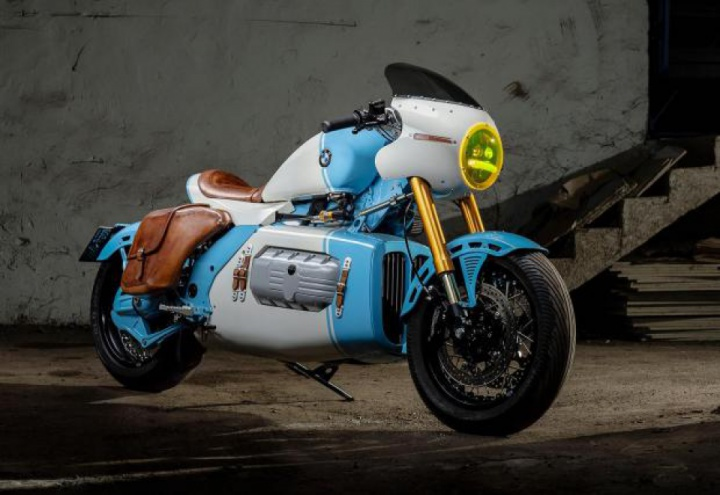 Custom : Galaxy Custom brings creative custom called as BMW K1200RS Mille Miglia X