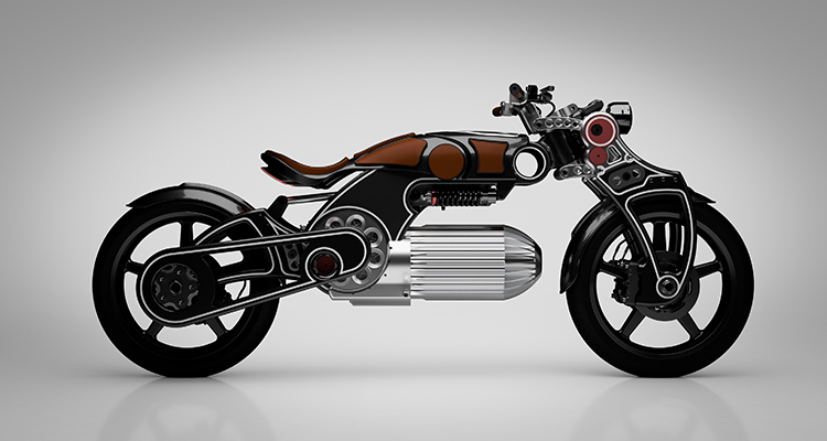 "Electric : Curtiss Motorcycles unveils "" Hades"""