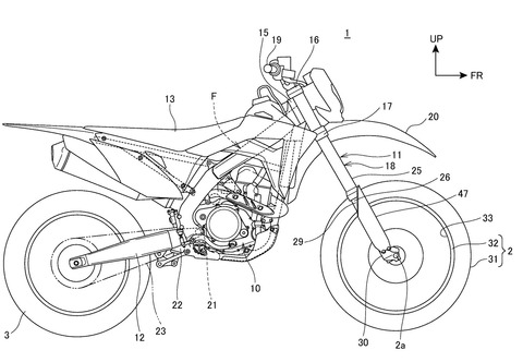 News: Could this electronically controlled suspension be for Africa twin?
